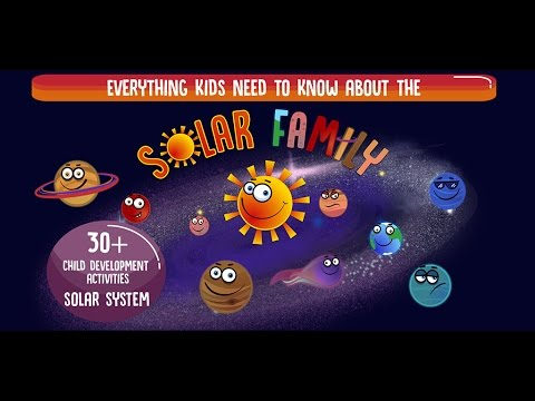 Solar Family - Kids Learning Games and Interactive Story about Solar System - Trailer #2