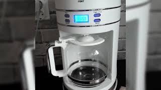 Хотите отменный кофе? Тогда эта крутышка для вас. Обзор капельной кофеварки KITFORT KT-704-1