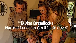 Become a natural dread Loctician! Certificate Course Online!