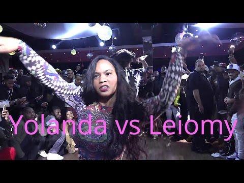 Icon Yolanda Jourdan  vs Legendary Amazon Leiomy@Vogue Nights 11/24/2016 Fq Performance 2k