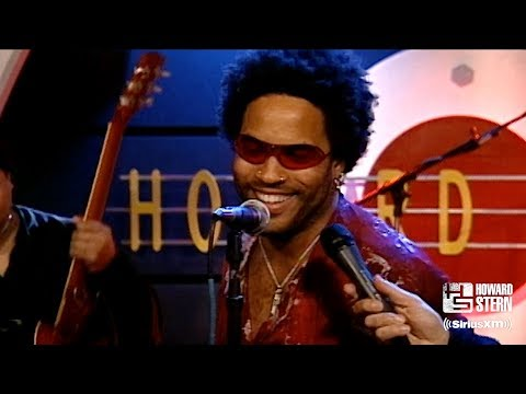 """Lenny Kravitz """"Are You Gonna Go My Way"""" on the Howard Stern Show in 2001"""