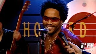 "Lenny Kravitz ""Are You Gonna Go My Way"" on the Howard Stern Show in 2001"