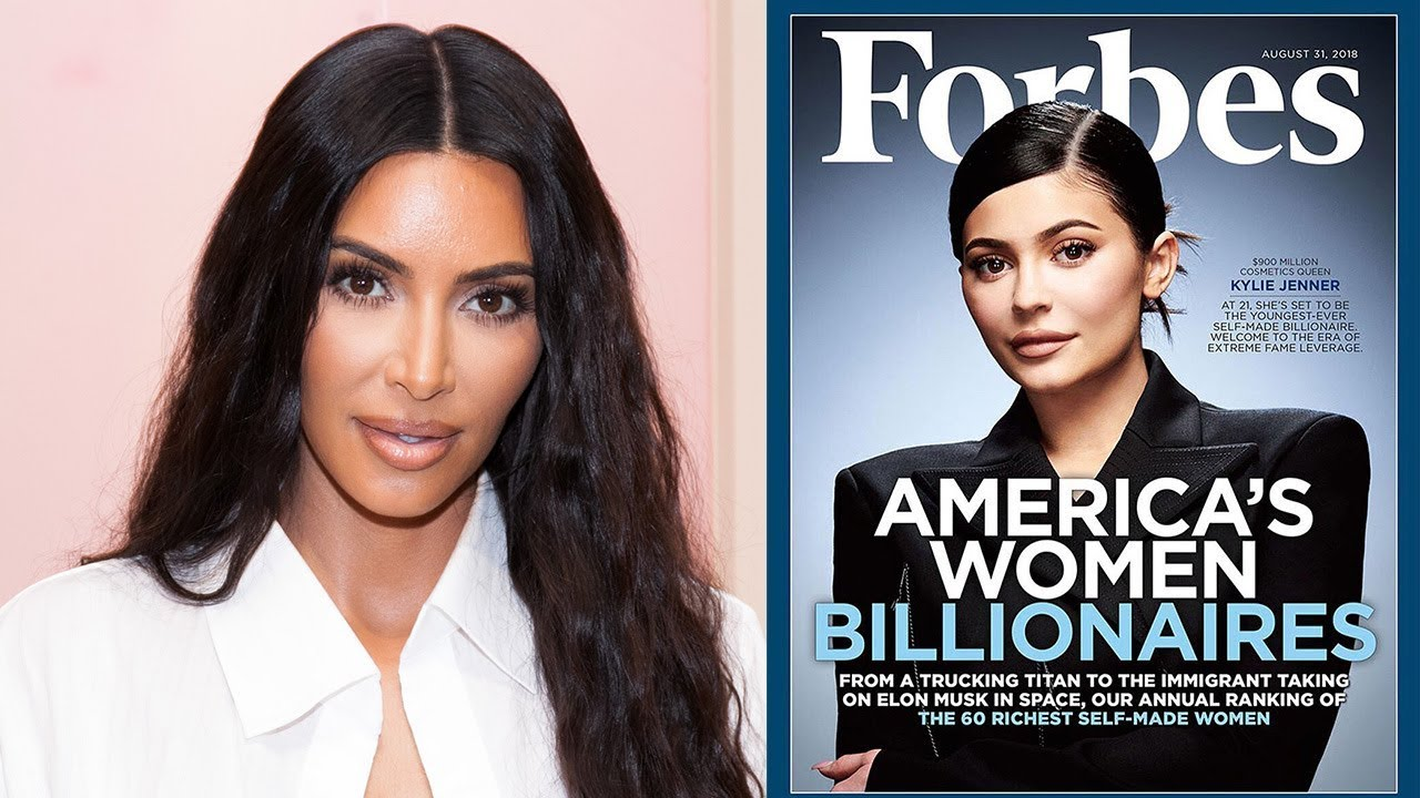 Kim Kardashian DEFENDS Kylie Jenner's Forbes Cover After Backlash