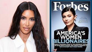Kim Kardashian DEFENDS Kylie Jenner's Forbes Cover After Backlash