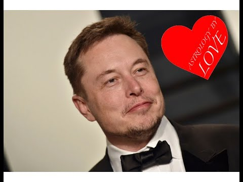 Elon Musk's business success and dating astrology natal chart