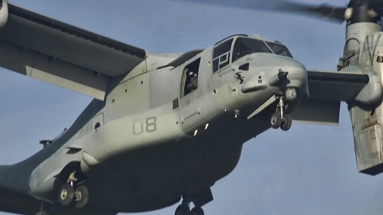 MV-22B Osprey Flight Ops View • VMM-265 Dragons In Japan