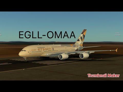 Infinite Flight | Heathrow(London)-Abu Dhabi(UAE)|New Update !!