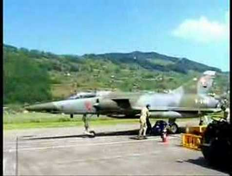 Mirage III RS R-2109 Starting-Up ATAR 9C