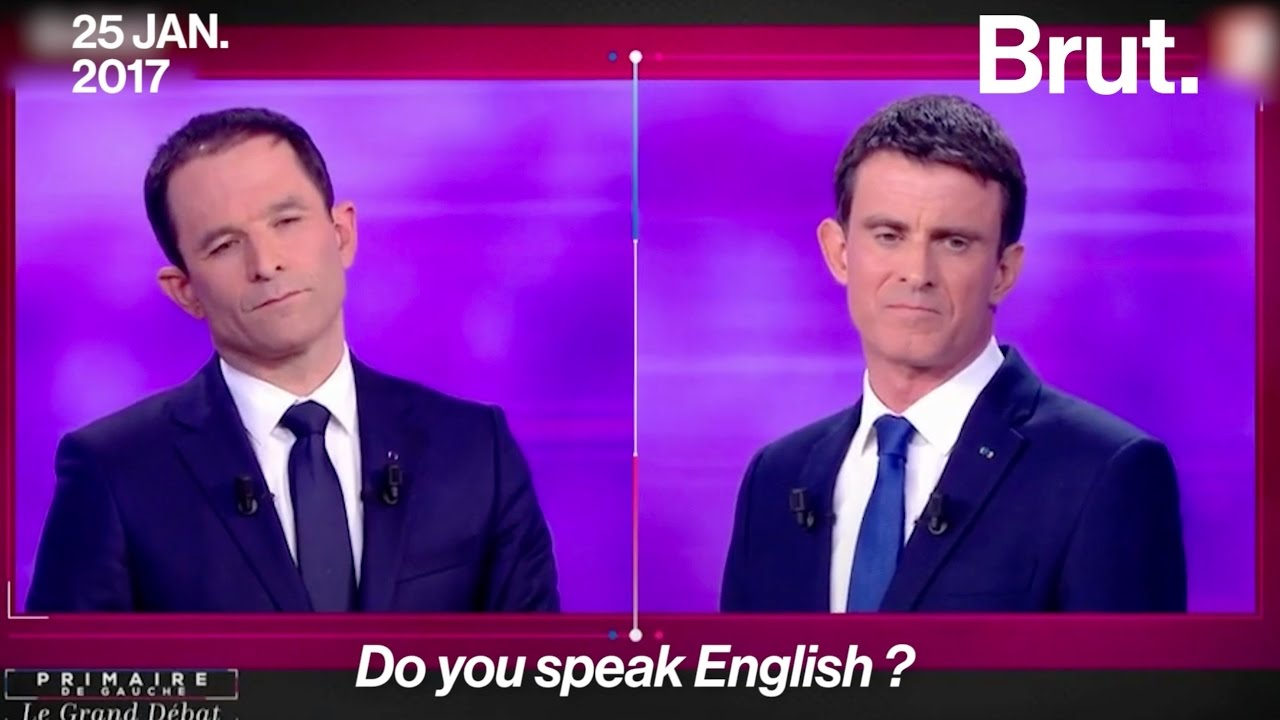 Do you speak english ? Les politiques français parlent anglais