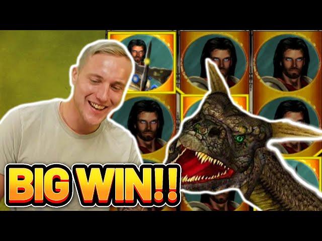 BIG WIN! DRAGONS TREASURE BIG WIN - €5 bet on Casino Slot from CasinoDaddy