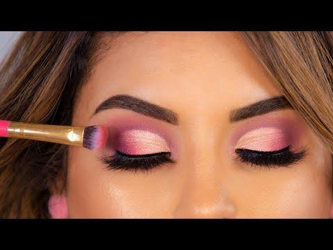 Cómo Aplicar Sombras   Tutorial de Maquillaje para Ojos de noche I roccibella