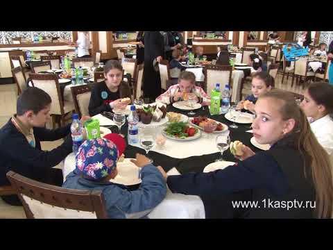 Поздравления от высоких гостей и праздничные обеды – в Каспийске с размахом отметили  международный день детей