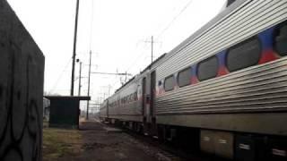 Eddington Station-A Very Fast Silverliner IV!!!!