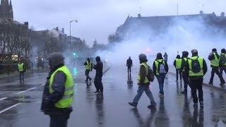 Gilets jaunes à Quimper le 26 janvier 2019