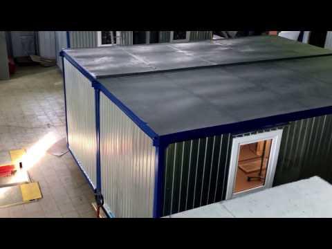 Сдвоенный блок-контейнер. Курск. 6х4,8м