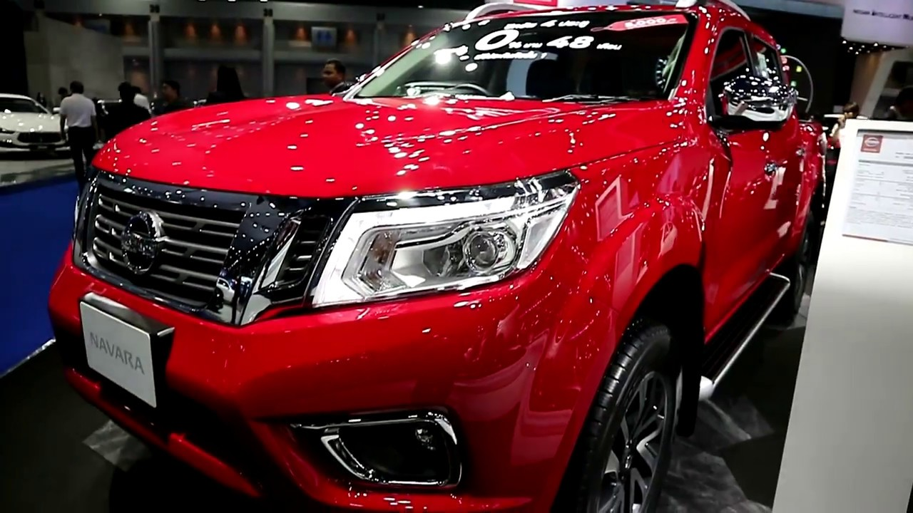Nissan Navara 2018 Red Colour Exterior And Interior Youtube