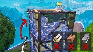 NO Building, just Flint Knock CHALLENGE (hardest Fortnite Season 8 Challenge)