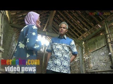 JANDA TINGGAL DI GUBUK KECIL, WARGA GOTONG-ROYONG BANGUNKAN RUMAH