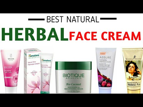 BEST NATURAL & ORGANIC CREAMS FOR FACE India | BEST ORGANIC SKIN CARE