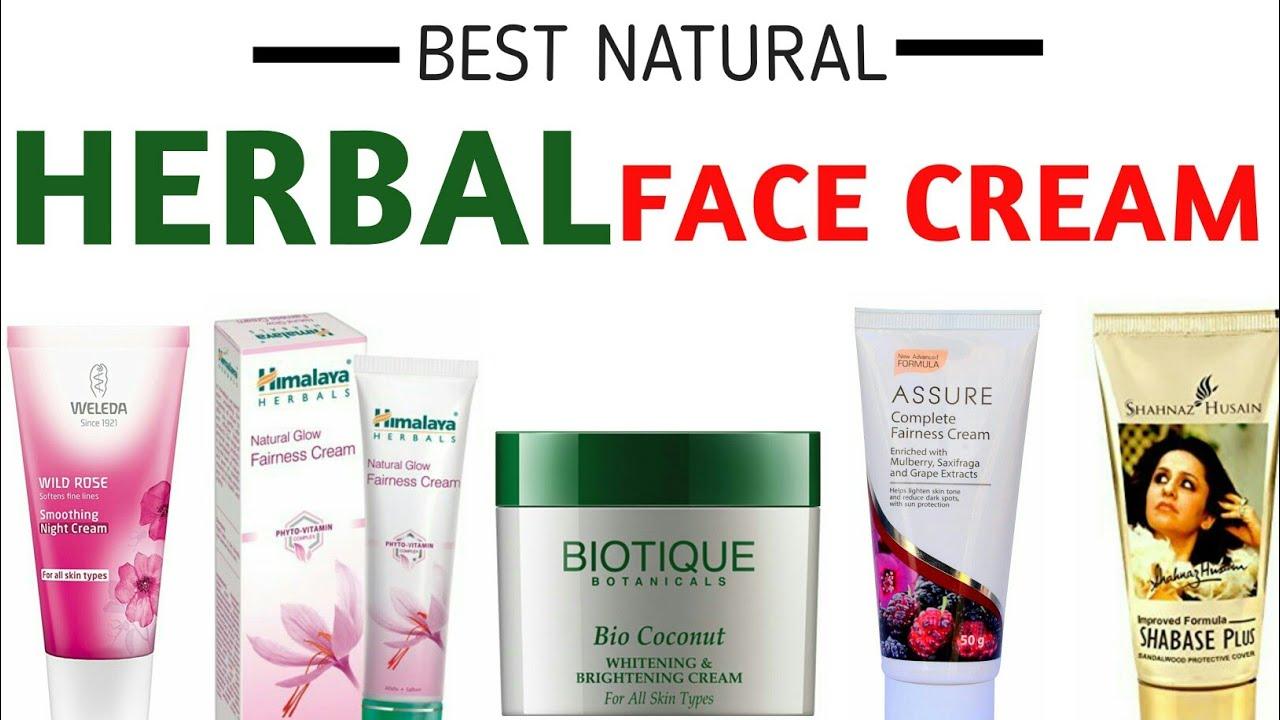 best natural skin cream