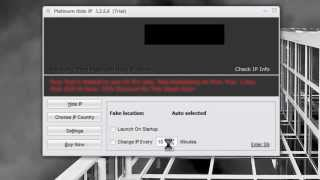 Platinum Hide IP - اخفاء آيبي الجهاز للحمايه