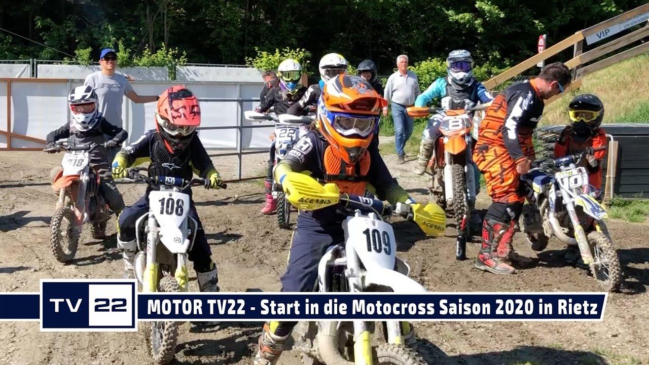 MOTOR TV22: Start in die Motocross Saison 2020 in Rietz