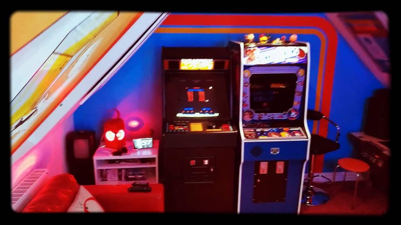 80s Arcade Games Room