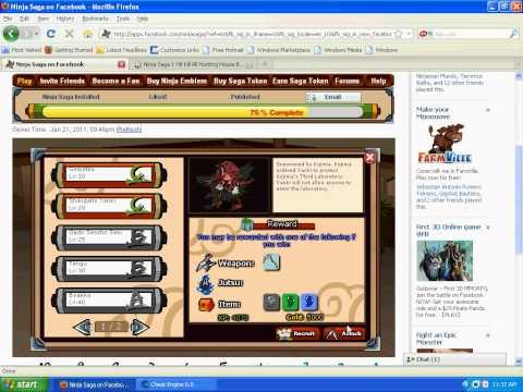 Ninja Saga 1 Hit KO Using Cheat Engine (UPDATED!!) June 2011