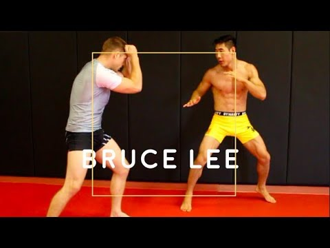 Bruce Lees 5 BEST TACTICS used in MMA Sparring