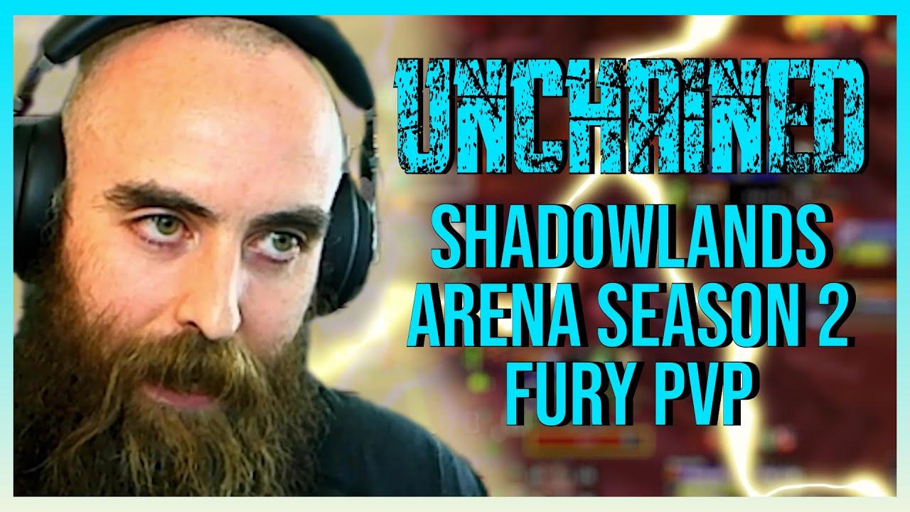 2100+ Fury Warrior / Resto Druid 2v2 Arena (S2 Begins!) - WoW Shadowlands 9.1 Warrior PvP
