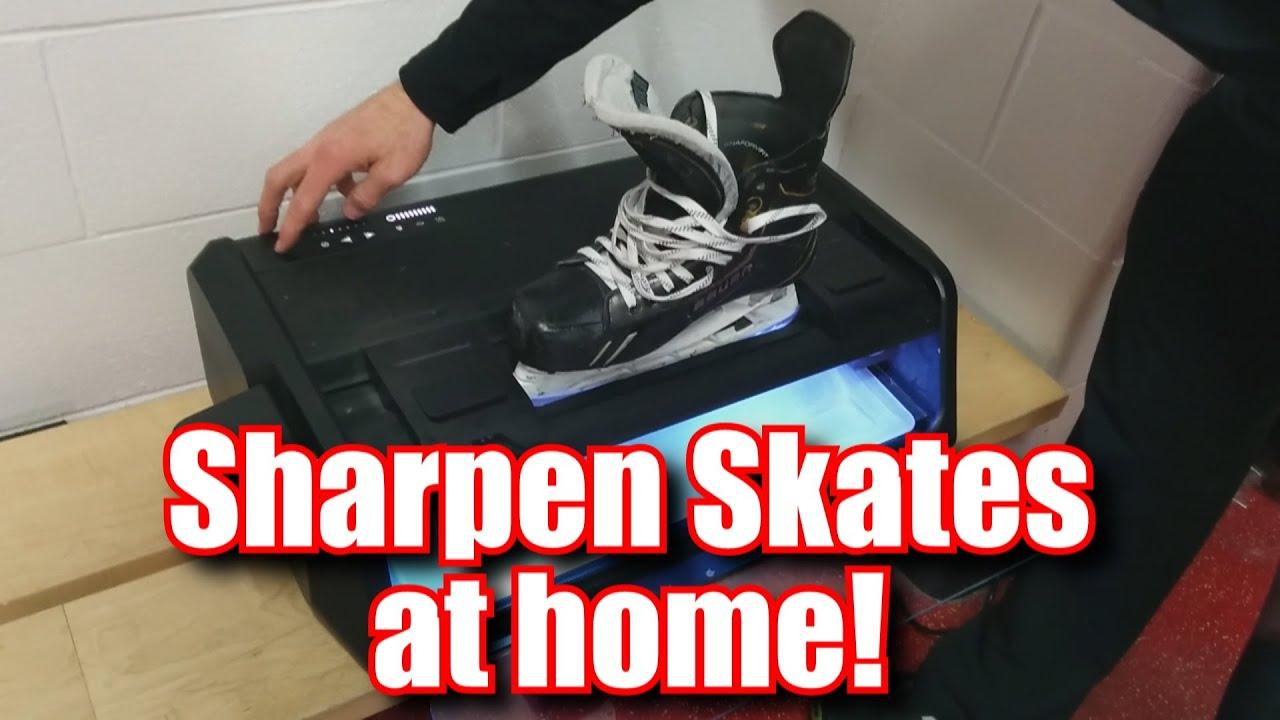 How to Sharpen Skates