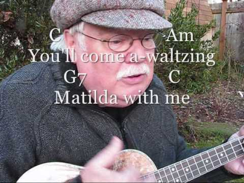 Waltzing Matilda For The Ukulele Ukulele Lesson Tutorial By