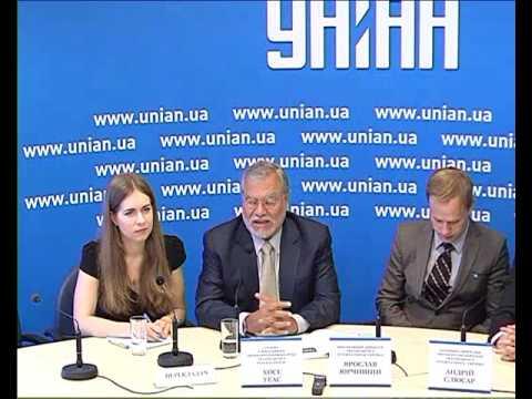 Прес-конференція за участі голови Transparency International Хосе Уґаса