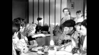 """Maria Schell, Suzy Delair et François Périer dans """"Gervaise"""" (de René Clément, 1956)"""