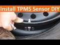 Install New TPMS Sensor DIY Without Needing Rebalance