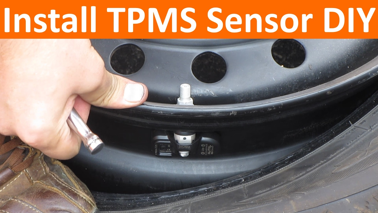 Install New Tpms Sensor Diy Without Needing Rebalance Youtube