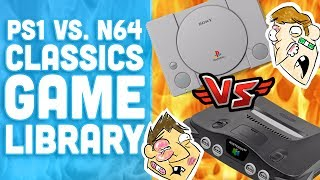 PS1 vs. N64 Classic Game Library Battle! - Hot Take