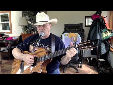 55b -  Here In The Real World -  Alan Jackson cover with guitar chords and lyrics