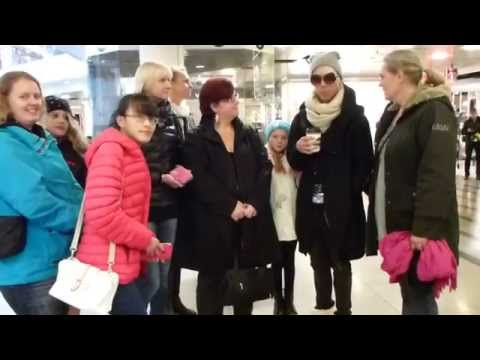 Riotcolor meeting fans at Forum in Helsinki Finland 2014-10-31