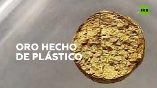 Crean oro ligero de 18 quilates con las propiedades del plástico