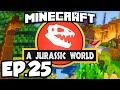 Jurassic World: Minecraft Modded Survival Ep.25 - MAMMOTH DINOSAUR INJECTION!!! (Rexxit Modpack)