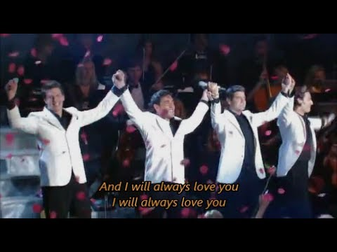 Il divo can 39 t help falling in love with lyrics doovi - Il divo man you love ...