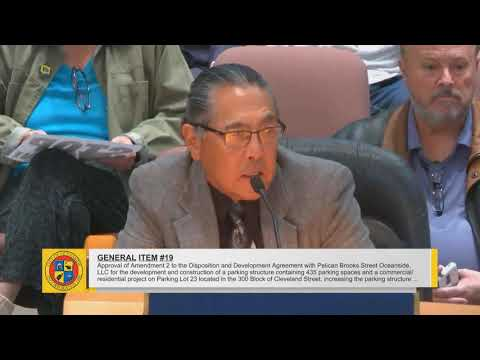 City of Oceanside Council Meeting - December 20, 2017