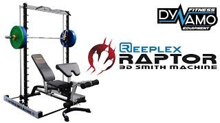 Reeplex Raptor 3D Smith Machine Demo Exercise Video