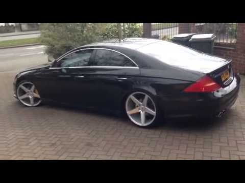 Mercedes Cls Stanced Oems Ifg8 Lowered Youtube