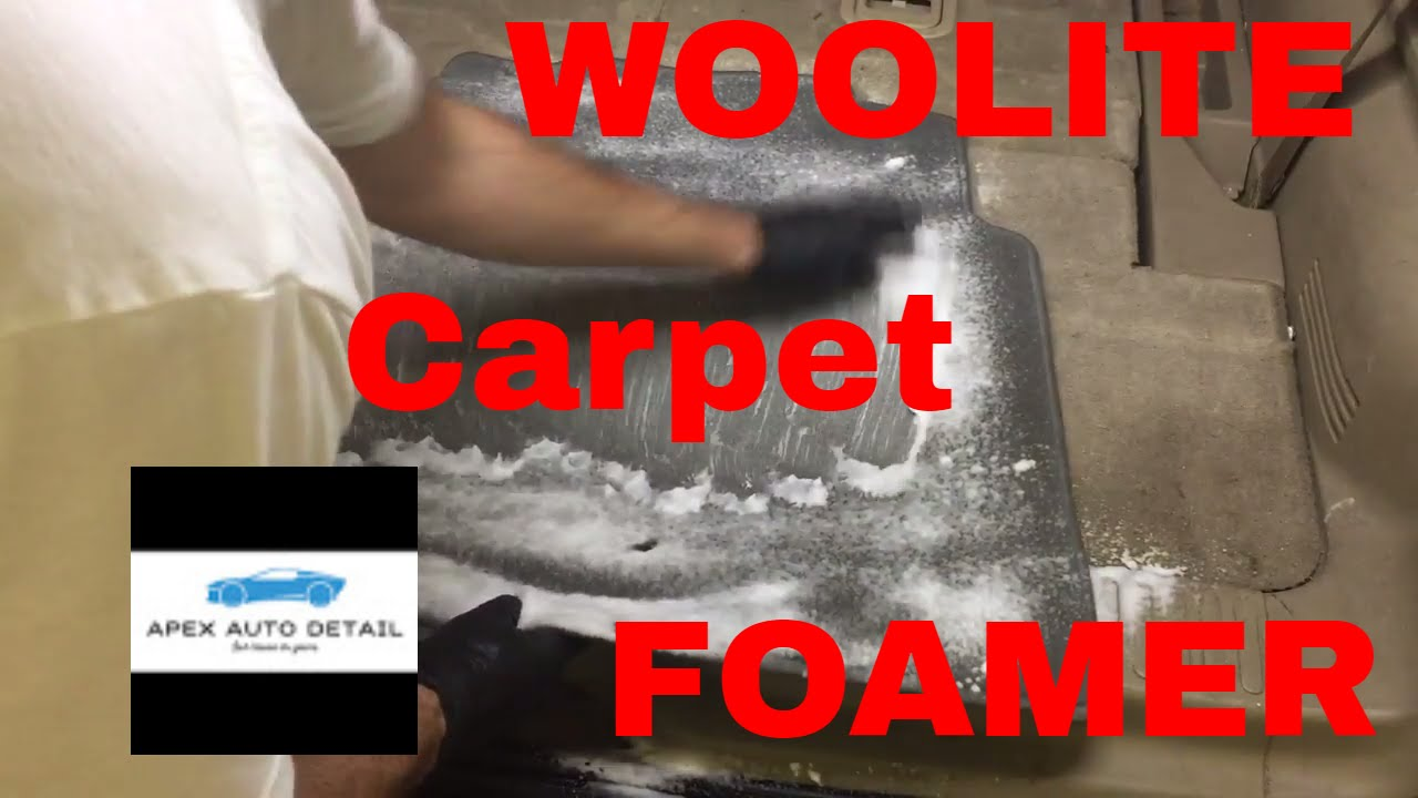 Woolite Foam Carpet Cleaner Is It A Must Or A Bust Youtube