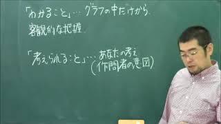 5 「わかること」と「考えられること」1【グラフ問題特別ゼミ 公立中高一貫校対策 24日間で完成 】|朝日学生新聞社