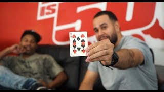 "WOW: Smoothini Shows Off Crazy Magic Trick + New Show ""Hip Hop Houdini"" on Fuse TV"