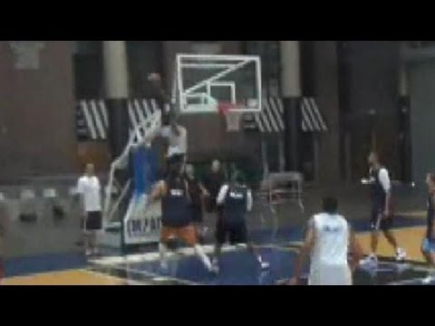 Jeremy Evans Ridiculous Oop at Impact Basketball in Las Vegas - Utah Jazz