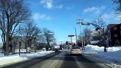Québec Sainte-Foy en hiver